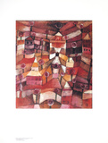 Rosengarten Reproductions pour les collectionneurs par Paul Klee