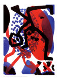 Waechter Collectable Print by A. R. Penck