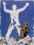 Pieta vor Koloss Posters av Klopries Kleine