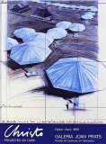 The Blue Umbrellas III, c.1986 Collectable Print by Christo 