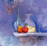 Blaue Stunde Art by Juliane Jahn