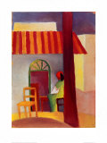 Turkisches Cafe I Poster by Auguste Macke