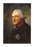 Friedrich II, der Grobe, Konig von Preuben Plakater af Anton Graff