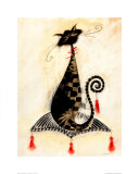 Thomas the Cat Print van Marilyn Robertson