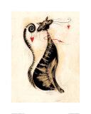 Leopoldo el gato Póster por Marilyn Robertson