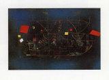 Abenteuerschiff Poster von Paul Klee