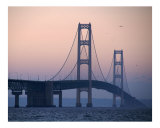 Mackinac Bridge Photographic Print by Jim Cihula