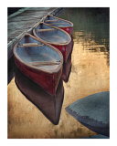 Three Canoes Photographic Print by Auralee Dallas