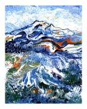 Mt Rainier Giclee Print by Leone Ardo