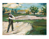 Bobby Jones In Augusta Giclee Print by Ginette Callaway