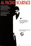 Scarface, film, ett ark Plakater