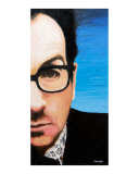 Elvis Costello Giclee Print by Karen Yee