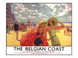 The Belgian Coast Giclee Print by Arthur C Michael
