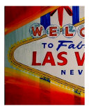Welcome To Las Vegas 17 Giclee Print by Teo Alfonso