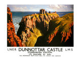Dunnottar Castle, LNER &amp; LMS poster, 1939 Giclee Print by James McIntosh Patrick