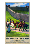 The Road of the Roman Giclee Print by W P Wollen