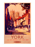 York, BR poster, 1950s Giclee Print by Claude Buckle