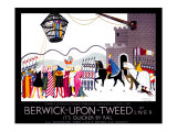 Berwick-upon-Tweed Giclee Print by Doris Clare Zinkeisen