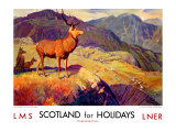 Scotland for Holidays Giclee Print by W. Smithson Broadhead