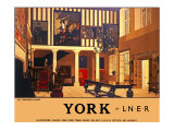 York, The Treasurers House Giclee Print by Fred Taylor