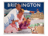 Bridlington Giclee Print by Fred Taylor