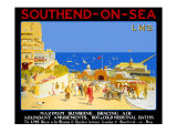 Southend-on-Sea Giclee Print by R T Roussel