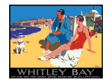 Whitley Bay Giclee Print by Frank Newbould