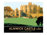 Alnwick Castle Giclee Print by Fred Taylor