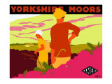 Yorkshire Moors Giclee Print by Gwen Raverat