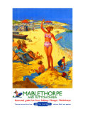 Mablethorpe and Sutton-on-sea, BR poster, circa 1950s Giclee Print by Jack Merriott