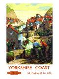 Yorkshire Coast Giclee Print