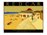 Redcar Giclee Print by A E Martin