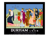 Durham Giclee Print by Doris Clare Zinkeisen