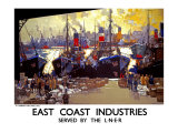 East Coast Industries Giclee Print by Frank Mason