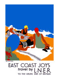 East Coast Joys No. 2, Sun-bathing Giclee Print by Tom Purvis