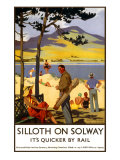Silloth-on-Solway Giclee Print by Henry George Gawthorn