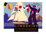 Lowestoft Giclee Print by Austin Cooper