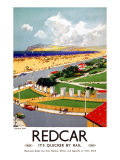 Zetland Park, Redcar Giclee Print by Frank Mason