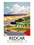 Zetland Park, Redcar Giclee Print by Frank Mason