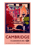 St. Johns, Cambridge Giclee Print by Fred Taylor