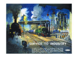 Service to Industry Giclee Print by Terence Tenison Cuneo