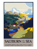 Saltburn-by-the-Sea Giclee Print by Frank Mason