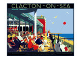 Clacton-on-Sea Giclee Print by Henry George Gawthorn