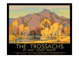 The Trossachs Giclee Print by John Littlejohns