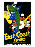 East Coast Frolics, No. 6 Giclee Print by Frank Newbould
