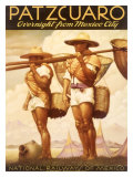 Patzcuaro Mexico Railway Giclee Print