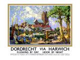 Dordrecht via Harwich Giclee Print