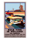 Bulb Time in Holland Giclee Print by Fred Taylor