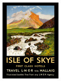 Isle of Skye, First Class Hotels Giclee Print by  Schabelsky