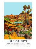 Isle of Skye Giclee Print by J Torrington Bell
